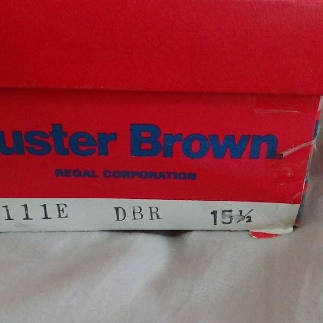REGAL(リーガル)の Buster brown ローファー 15.5cm ブラウン  キッズ/ベビー/マタニティのキッズ靴/シューズ(15cm~)(ローファー)の商品写真