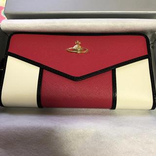 ヴィヴィアンウエストウッド(Vivienne Westwood)の新品未使用 ヴィヴィアンウエストウッド 長財布 レディース ピンクホワイト(財布)