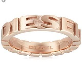 ディーゼル(DIESEL)の値下げ ディーゼル ピンクゴールド リング(リング(指輪))
