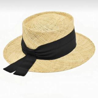 ドゥロワー(Drawer)のchapeaud'O カンカン帽 シャポードオー(麦わら帽子/ストローハット)