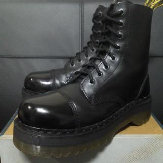 ドクターマーチン(Dr.Martens)の【激レア】Dr.Martens クレイジーボム UK8 黒 厚底 JADON(ブーツ)