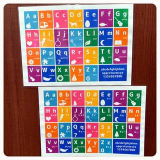 アルファベット ABC 英語 知育教材 幼児教育(知育玩具)