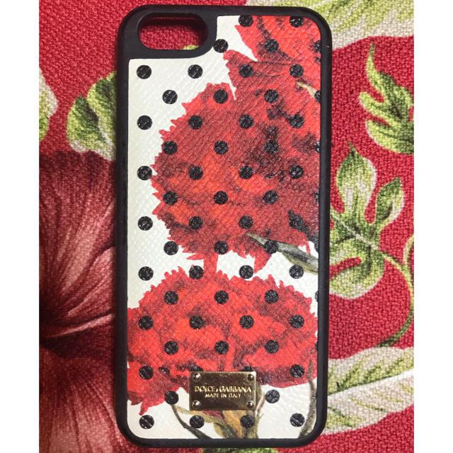 Iphone8 アップル ケース | DOLCE&GABBANA - ドルチェ&ガッバーナ■スマホケース iPhone5/5s SE 対応■ダメージ有の通販