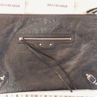 バレンシアガ(Balenciaga)のバレンシアガ クラッチバッグ(黒)(セカンドバッグ/クラッチバッグ)