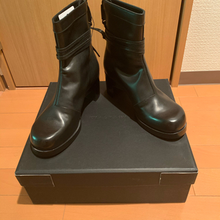 ディオールオム(DIOR HOMME)の正規未使用品 1017 alyx 9sm ヒールブーツ ブラック(ブーツ)