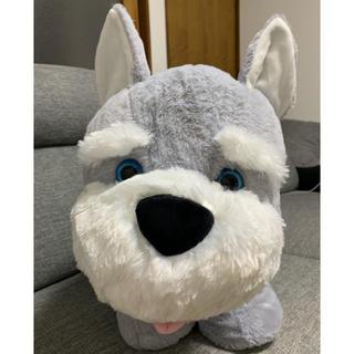 コストコ(コストコ)の★送料無料★ コストコ ぬいぐるみ シュナウザー アニマルピロー 犬(犬)