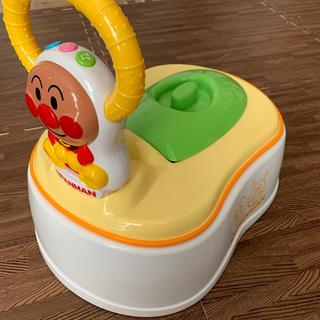 アンパンマン(アンパンマン)のアンパンマン おまる 補助便座 踏み台(ベビーおまる)