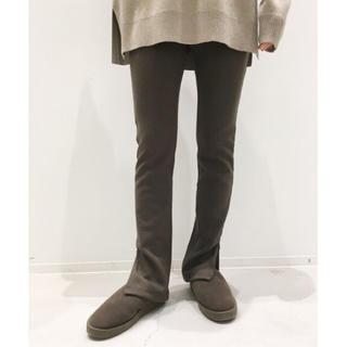 アパルトモンドゥーズィエムクラス(L'Appartement DEUXIEME CLASSE)のアパルトモン Wool Zip Leggings レギンス パンツ(レギンス/スパッツ)