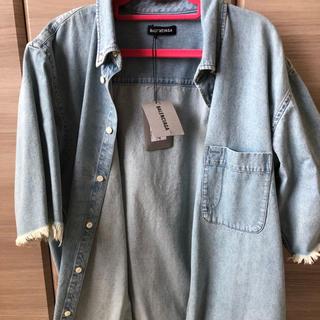 バレンシアガ(Balenciaga)のBALENCIAGA  デニムシャツ(Gジャン/デニムジャケット)