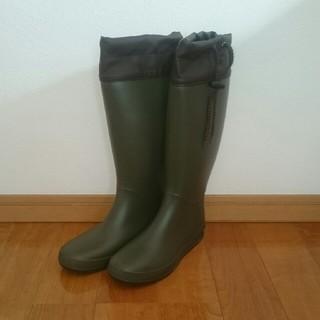 【新品 未使用】ロング レインブーツ(レインブーツ/長靴)