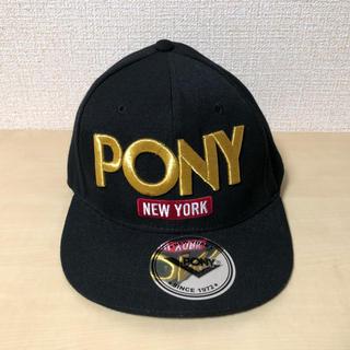 ポニー(PONY)のPONY  キャップ  57〜59cm(キャップ)