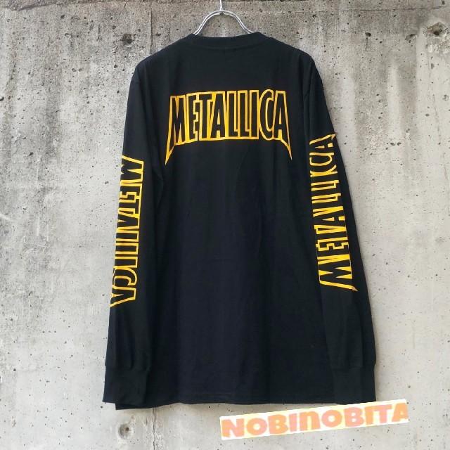 ONE OK ROCK(ワンオクロック)のL)長袖 METALLICA  NOLEAFCLOVER Tシャツ メンズのトップス(Tシャツ/カットソー(七分/長袖))の商品写真