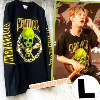 ワンオクロック(ONE OK ROCK)のL)長袖 METALLICA  NOLEAFCLOVER Tシャツ(Tシャツ/カットソー(七分/長袖))