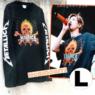 ONE OK ROCK - L◇長袖T METALLICA  REBEL ロックTシャツ