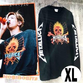 ワンオクロック(ONE OK ROCK)のXL◇長袖T METALLICA  REBEL ロックTシャツ(Tシャツ/カットソー(七分/長袖))