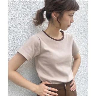 カスタネ(Kastane)のkastane リンガーリブTee(Tシャツ(半袖/袖なし))