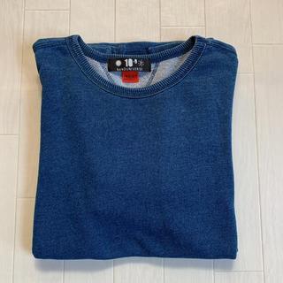 ナノユニバース(nano・universe)のナノユニバース インディゴ カットソー Sサイズ(Tシャツ/カットソー(七分/長袖))