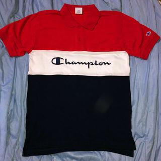 チャンピオン(Champion)の今年の流行り‼️トリコロールカラーchampion秋にはロンT重ね着でオシャレ(Tシャツ/カットソー(半袖/袖なし))