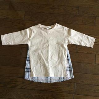 サマンサモスモス(SM2)のSM2 7分袖Tシャツ(Tシャツ/カットソー)