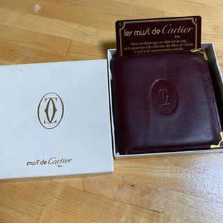 カルティエ(Cartier)のカルティエ 二つ折り財布(折り財布)