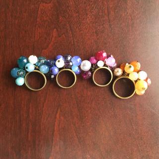 おもちゃの指輪 4つセット(リング(指輪))