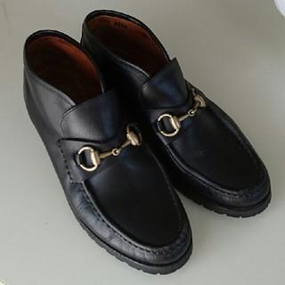 グッチ(Gucci)のGUCCI グッチ レディース ショートブーツ(ローファー/革靴)