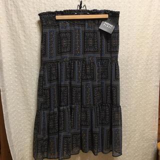 感謝sale♥7965♥新品✨大きめ、4L♥ゆったり&可愛い花柄スカート(ロングスカート)
