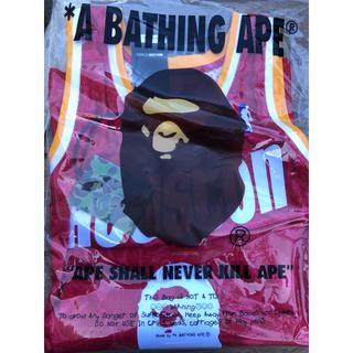アベイシングエイプ(A BATHING APE)のbape mitchell ness houston 2XLサイズ(Tシャツ/カットソー(半袖/袖なし))