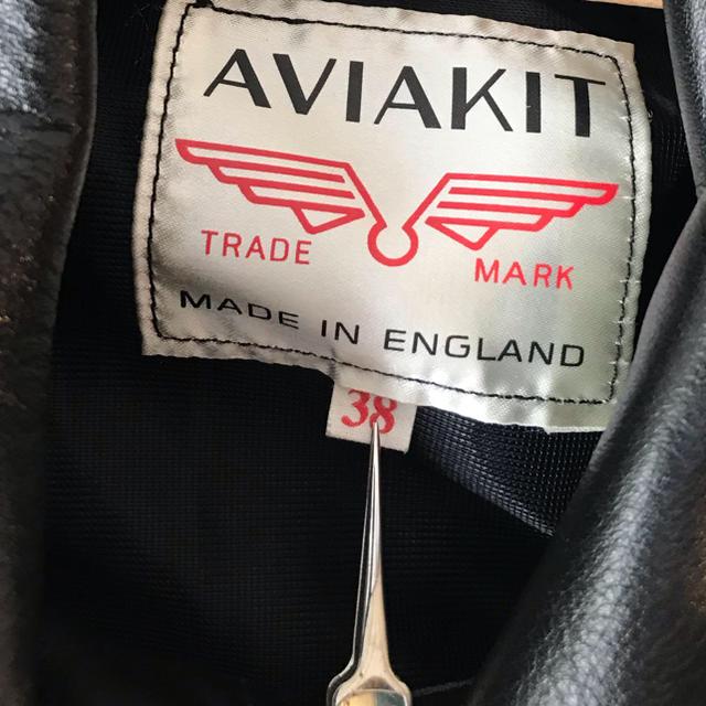 Lewis Leathers(ルイスレザー)のルイスレザー サイクロン size38 ブラックニット タイトフィット 試着のみ メンズのジャケット/アウター(レザージャケット)の商品写真