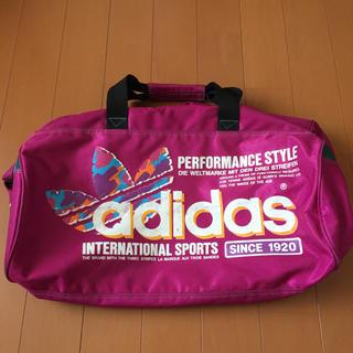 adidas - アディダス ボストンバッグ 紫