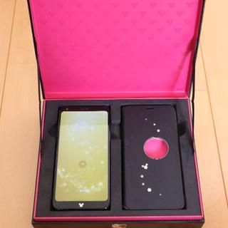 LG Electronics - docomo DM-01K Disney Mobile ブラック ロック解除済