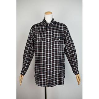 シンゾーン(Shinzone)の新品同様 THE SHINZONE 日本製 長袖ネルシャツ 38(シャツ/ブラウス(長袖/七分))