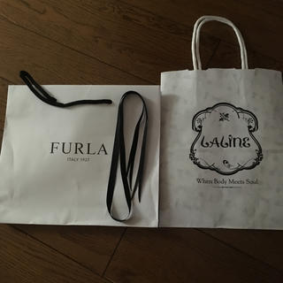 フルラ(Furla)の紙袋(ショップ袋)