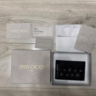 JIMMY CHOO - 美品正規 JIMMY CHOO カードケース パスケース カード入れ 定期入れ