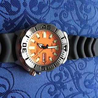 セイコー(SEIKO)のセイコーダイバー200m通称オレンジモンスター自動巻き(腕時計(アナログ))