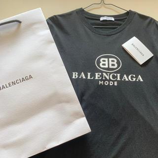 バレンシアガ(Balenciaga)の【新品】BALENCIAGA ロゴTシャツ(半袖)(Tシャツ(半袖/袖なし))