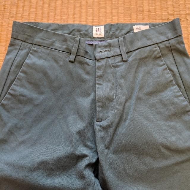 GAP(ギャップ)の【美品】 GAPメンズスキニージーンズパンツ  カーキ メンズのパンツ(デニム/ジーンズ)の商品写真