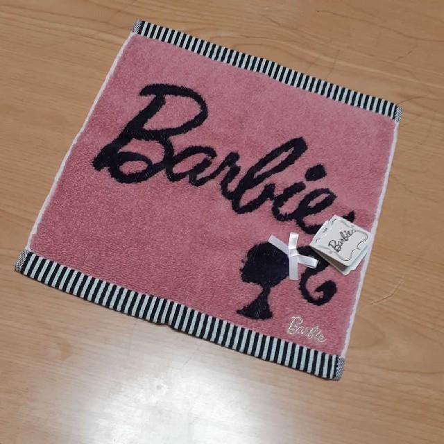 Barbie(バービー)の~NANA様専用~ バービー タオルハンカチ レディースのファッション小物(ハンカチ)の商品写真