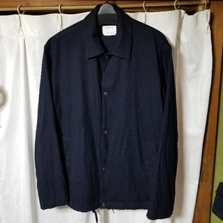 STUDIOUS - UNITED TOKYO ウール コーチジャケット 濃紺 サイズ1(S相当)