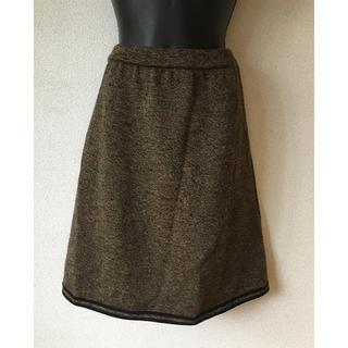 フェンディ(FENDI)のゆったり履きやすい♪FENDIニットスカート(ひざ丈スカート)