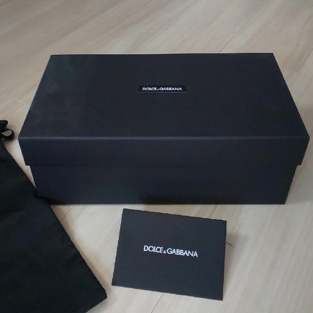DOLCE&GABBANA(ドルチェアンドガッバーナ)のDOLCE &GABBANA パンプスお箱 その他のその他(その他)の商品写真