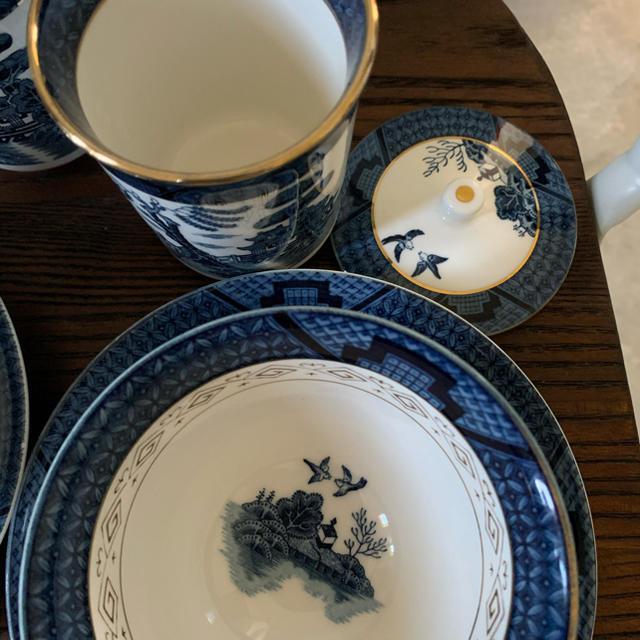 NIKKO(ニッコー)のオールド NIKKO  山水 ダブルフェニックス インテリア/住まい/日用品のキッチン/食器(食器)の商品写真