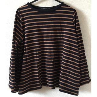ディーホリック(dholic)の【専用】ボーダーTシャツ(Tシャツ(長袖/七分))