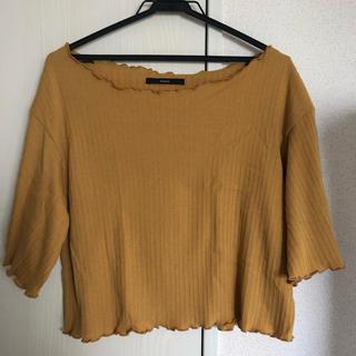 カスタネ(Kastane)のKastane  フリルTシャツ(Tシャツ(半袖/袖なし))
