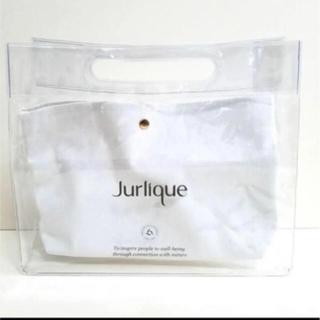 ジュリーク(Jurlique)の雑誌付録 ginger9月号 クリアバッグ&防水ポーチ(ポーチ)