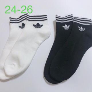 アディダス(adidas)のadidas アディダス ソックス 靴下 トレフォイル  アディダスオリジナルス(ソックス)