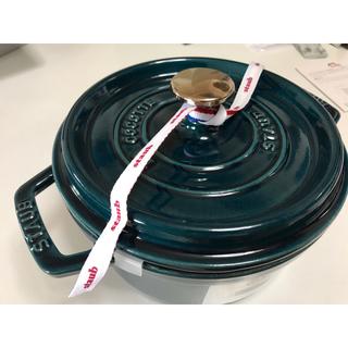 ストウブ(STAUB)の《在庫残1個・人気・新品》staub ココット 18cm ラメール(鍋/フライパン)