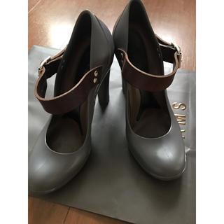 マルニ(Marni)のMARNI 革ベルト靴(ハイヒール/パンプス)
