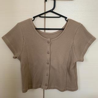 カスタネ(Kastane)のカスタネ  ワッフルチビT(Tシャツ(半袖/袖なし))