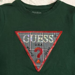 ゲス(GUESS)のGUESS   レディース Tシャツ  少し大きめXSサイズ(Tシャツ(半袖/袖なし))